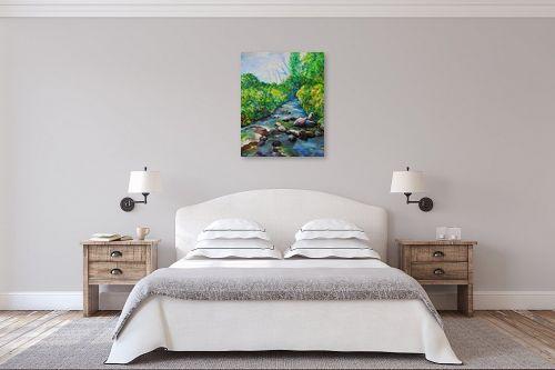 תמונה לחדר שינה - שמואל מושניק - עין תינה, רמת הגולן - מק''ט: 331810