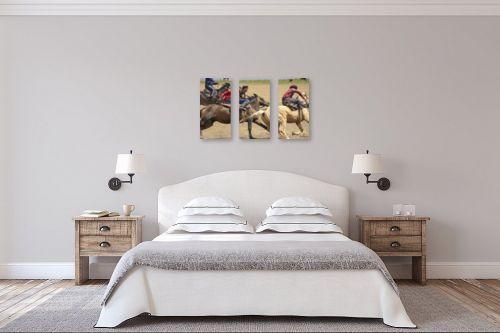 תמונה לחדר שינה - ענת שיוביץ - סוסים - מק''ט: 332386