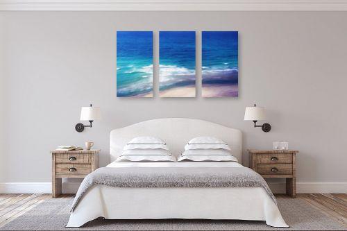 תמונה לחדר שינה - אורית גפני - מגע הגלים - מק''ט: 332694