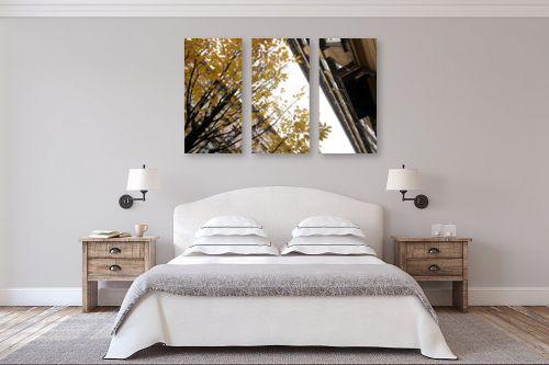 תמונה לחדר שינה - מירית אלון הלוי - Autumn in the City - מק''ט: 332721