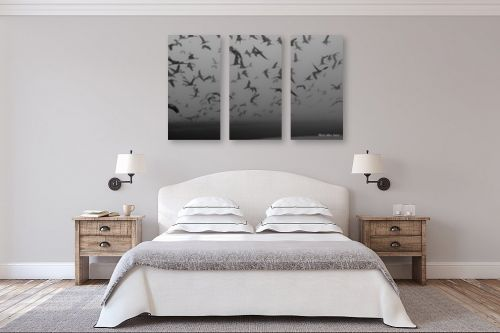תמונה לחדר שינה - מירית אלון הלוי - עגורים - מק''ט: 332759