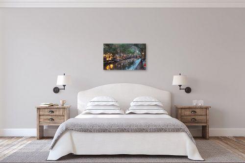 תמונה לחדר שינה - Artpicked - תעלה באמסטרדם - מק''ט: 333002
