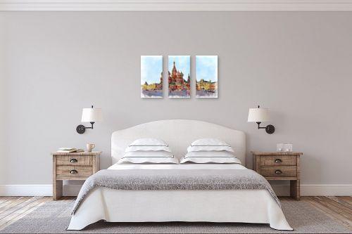 תמונה לחדר שינה - Artpicked - הקרמלין - מק''ט: 333003