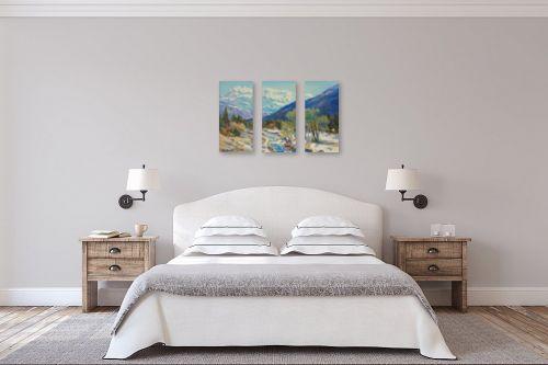 תמונה לחדר שינה - נטליה ברברניק - אביב - מק''ט: 333217