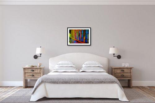 תמונה לחדר שינה - אורית גפני - אור וצבע - מק''ט: 333286