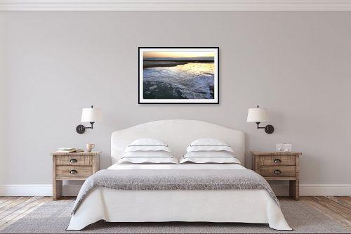 תמונה לחדר שינה - גל מאירי - צורות מלח - מק''ט: 334784