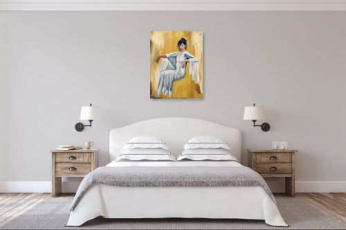 תמונה לחדר שינה - MMB Art Studio -  Delighted  - מק''ט: 334815