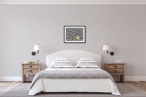 תמונה לחדר שינה - רעיה גרינברג - עץ הדולב - מק''ט: 334887