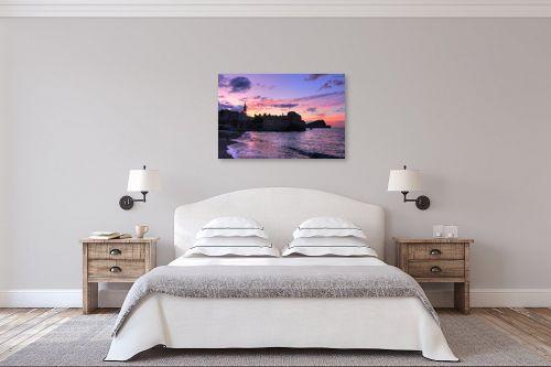 תמונה לחדר שינה - מתן הירש - זריחה סגולה - מק''ט: 335450