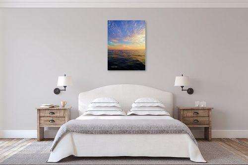 תמונה לחדר שינה - לימור ברק - עננים פזורים - מק''ט: 336099