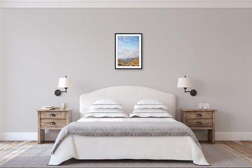 תמונה לחדר שינה - נריה ספיר - שמי מדבר - מק''ט: 336195