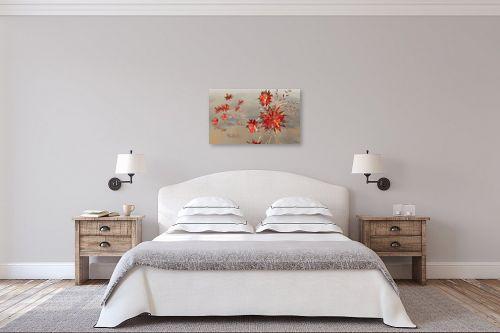 תמונה לחדר שינה - רעיה גרינברג - פרחי קריסטל - מק''ט: 338374