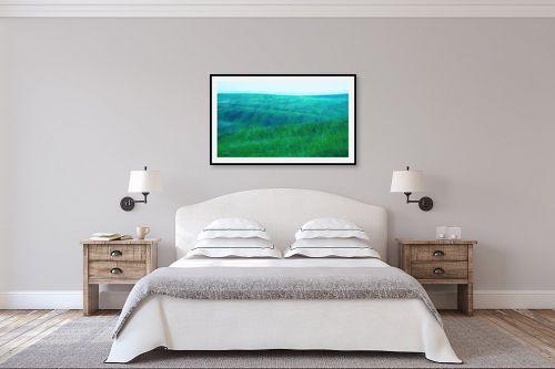 תמונה לחדר שינה - אורית גפני - כמו גלים - מק''ט: 338839