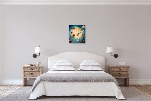 תמונה לחדר שינה - איל מלק - תיבת נח - מק''ט: 44281