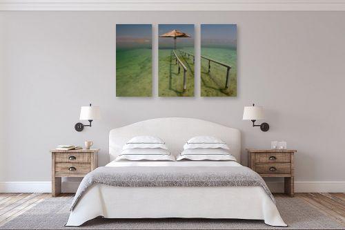 תמונה לחדר שינה - ניר אלון - ים המלח - מק''ט: 4807
