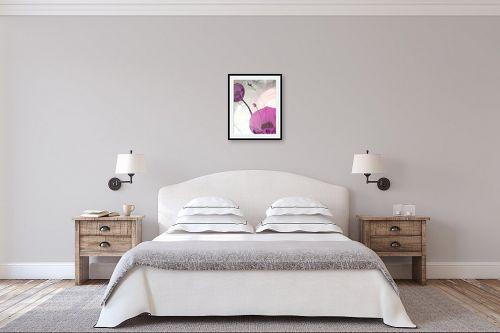 תמונה לחדר שינה - איל מלק - אהבה בסגול - מק''ט: 49258