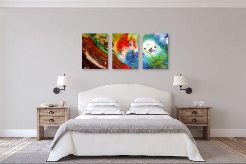 תמונה לחדר שינה - איל מלק - נוה מדבר - מק''ט: 49264