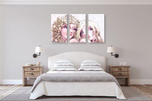 תמונה לחדר שינה - חנן אביסף - אמילי ואמלי - מק''ט: 52693