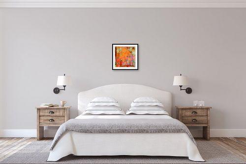תמונה לחדר שינה - נעמי פוקס משעול - פריחה - מק''ט: 53089