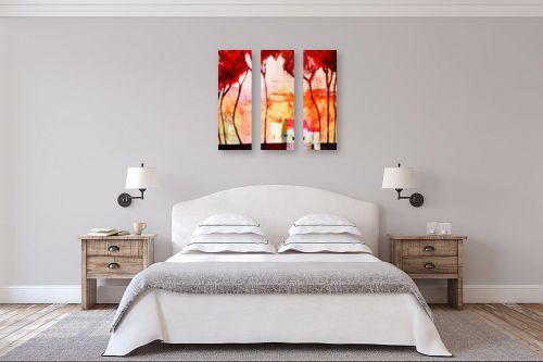 תמונה לחדר שינה - נעמי פוקס משעול - געגועים לבית - מק''ט: 53093