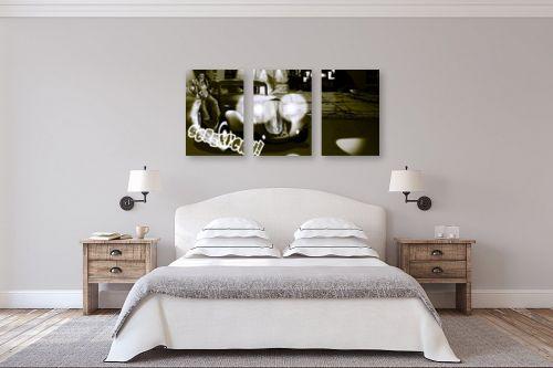 תמונה לחדר שינה - חנן אביסף - מאפיונר בשחור ולבן - מק''ט: 53106