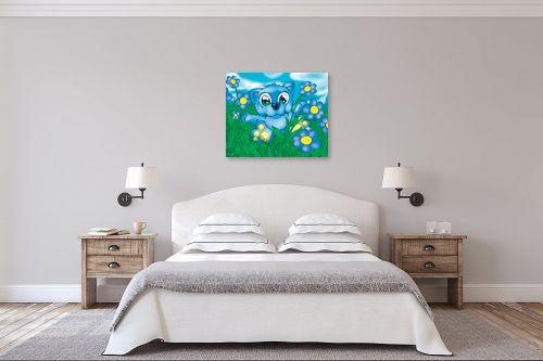 תמונה לחדר שינה - חנן אביסף - Bear blue - מק''ט: 53162