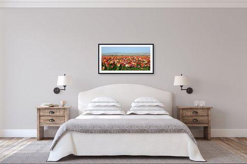 תמונה לחדר שינה - מיכל פרטיג - שדה נוריות - מק''ט: 54500