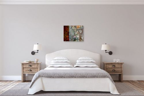 תמונה לחדר שינה - נעמי פוקס משעול - יער קסום - מק''ט: 57345