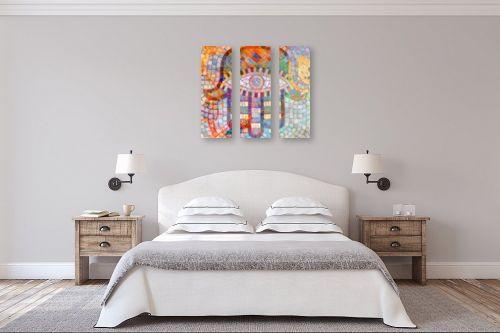 תמונה לחדר שינה - נעמי פוקס משעול - ציפורי מזל - מק''ט: 57347