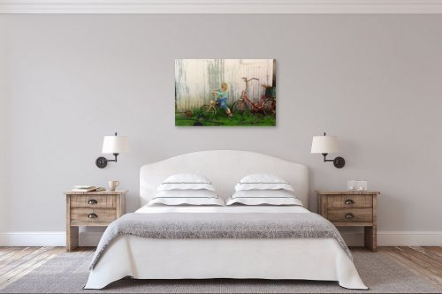 תמונה לחדר שינה - מיכל פרטיג - התבוננות - מק''ט: 58134