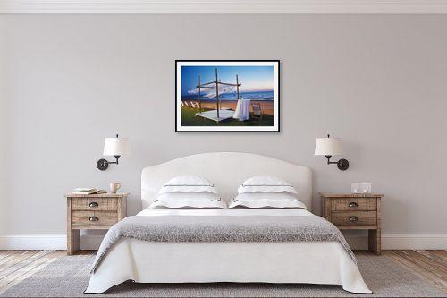 תמונה לחדר שינה - מיכל פרטיג - חופה ברוח - מק''ט: 58135