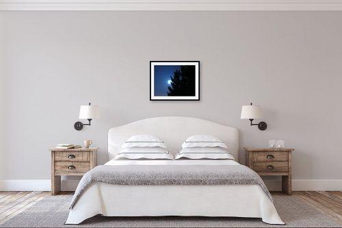 תמונה לחדר שינה - משה יפה - בראש כחול - מק''ט: 6089