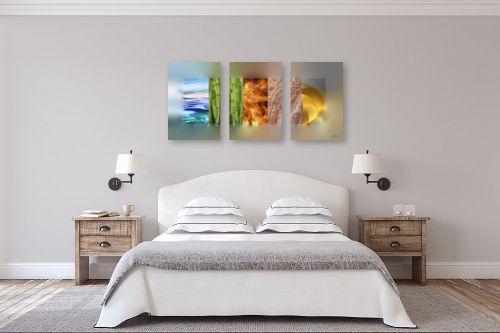 תמונה לחדר שינה - בתיה שגיא - חמישה יסודות. פנג שואי - מק''ט: 66540
