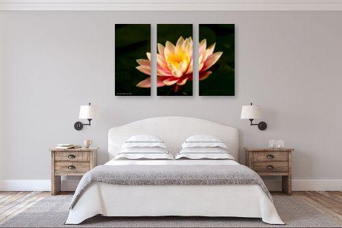 תמונה לחדר שינה - שרית סלימן - פרח המים - מק''ט: 80356
