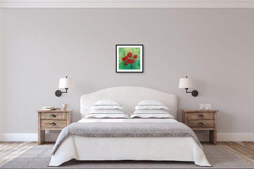 תמונה לחדר שינה - רינה יניב - כלניות בשרון - מק''ט: 80507