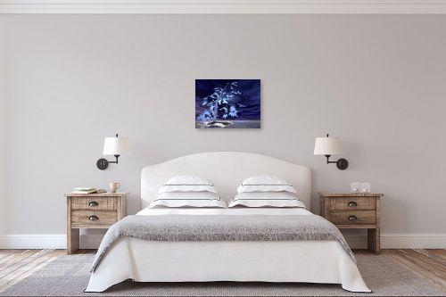תמונה לחדר שינה - רעיה גרינברג - כחול - מק''ט: 85312