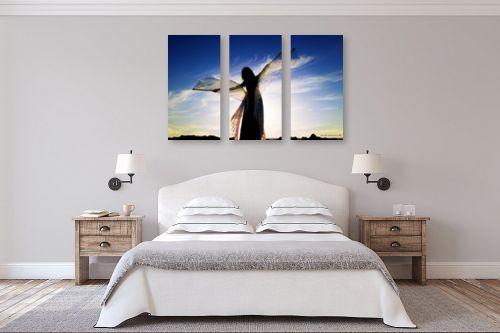 תמונה לחדר שינה - שרית סלימן - רקדנית בשקיעה2 - מק''ט: 86040