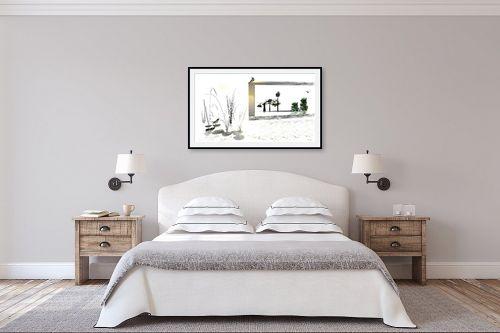 תמונה לחדר שינה - רעיה גרינברג - קרוב רחוק - מק''ט: 90882