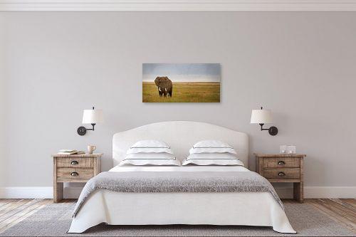 תמונה לחדר שינה - ניצן הפנר - פיל - מק''ט: 91850