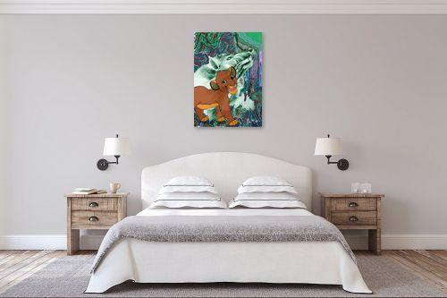 תמונה לחדר שינה - דוד סלע - חלומות - מק''ט: 96851
