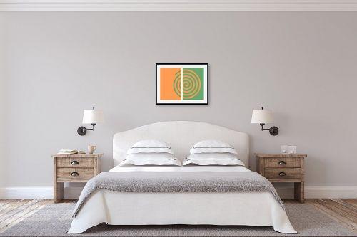 תמונה לחדר שינה - אתי דגוביץ' - שבלול מרגיע - מק''ט: 99358