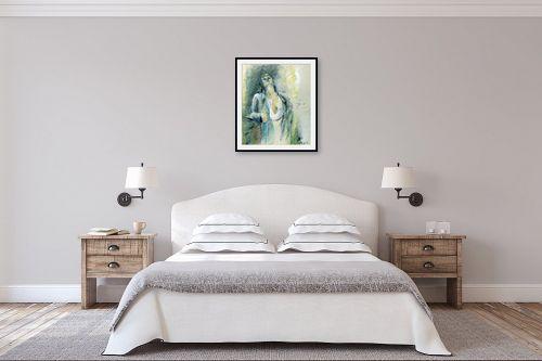 תמונה לחדר שינה - דוד סלע - צפיה - מק''ט: 99865
