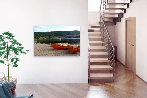 תמונה לבית - שוש אבן - סירות באגם - מק''ט: 105338