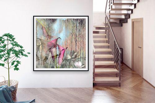 תמונה לבית - נעמי פוקס משעול - pink blooming - מק''ט: 112852