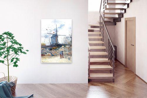 תמונה לבית - וינסנט ואן גוך - the mill de la galette - מק''ט: 115569
