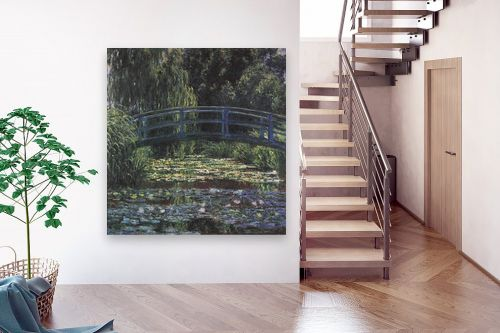 תמונה לבית - קלוד מונה - Water lily pond - מק''ט: 115816
