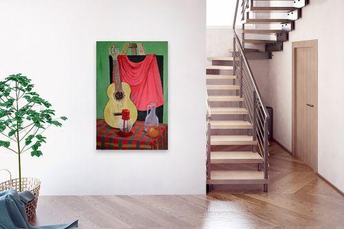 תמונה לבית - אסתר חן-ברזילי - גיטרה ספרדית - מק''ט: 120063