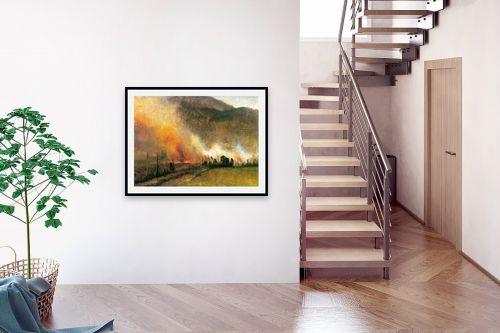תמונה לבית - אלברט בירשטאדט - Albert Bierstadt 062 - מק''ט: 124669