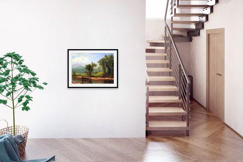 תמונה לבית - אלברט בירשטאדט - Albert Bierstadt 065 - מק''ט: 124673