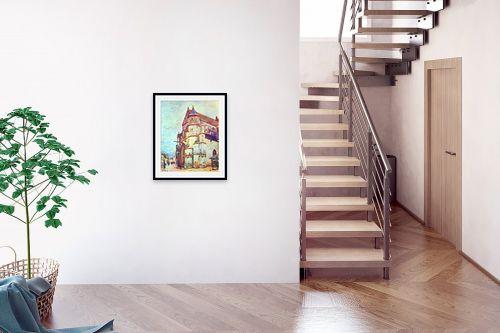 תמונה לבית - אלפרד סיסלי - Alfred Sisley 008 - מק''ט: 124873